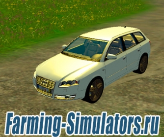 Автомобиль «Audi A4 Avant Quattro» v1.0 для Farming Simulator 2015 - скриншот