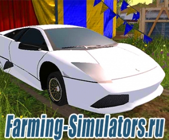Автомобиль «Lamborghini LP640» Beta для Farming Simulator 2015 - скриншот