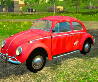 Автомобиль «Volkswagen VW Kafer Breitbau 1966» v1.2 для Farming Simulator 2015 - скриншот