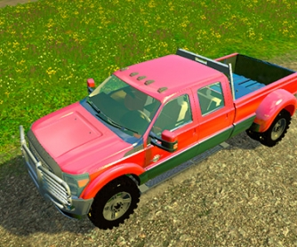 Автомобиль «Ford F450 Platinum» v9.1 для Farming Simulator 2015 - скриншот