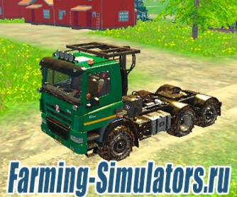 Грузовик «Tatra 158 Phoenix» + 3 прицепа v1.1 для Farming Simulator 2015 - скриншот