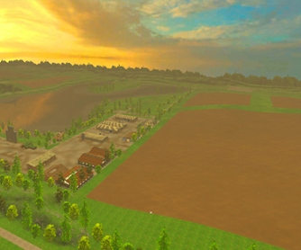 Карта «Lakeside farm hss by Stevie map» v1.1 для Farming Simulator 2015 - скриншот