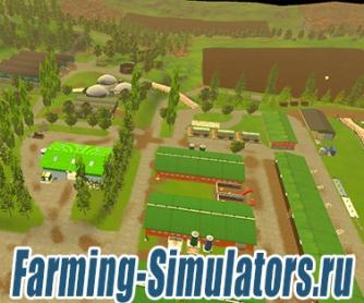 Карта «Vosges» v4.3 для Farming Simulator 2015 - скриншот