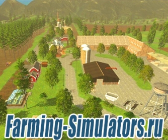 Карта «Westbridge Hills» v3.4 final fix для Farming Simulator 2015 - скриншот