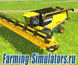 Комбайн «Claas Lexion 770» American Version v1.0 для Farming Simulator 2015 - скриншот