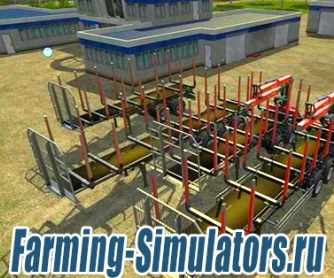 Набор прицепов «Fliegl Timber Kipper» v2.0 для Farming Simulator 2015 - скриншот