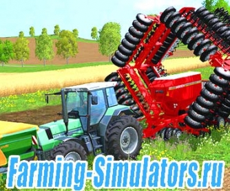 Сеялка «Horsch Pronto» 18М для Farming Simulator 2015 - скриншот