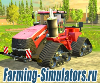 Трактор «Case IH QuadTrac 1000» v1.2 для Farming Simulator 2015 - скриншот