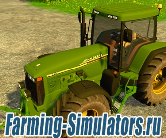 Трактор «John Deere 8410» v1.2 для Farming Simulator 2015 - скриншот