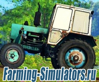 Трактор «ЮМЗ 6КЛ» v2.0 для Farming Simulator 2015 - скриншот