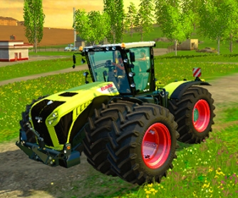 Трактор «CLAAS Xerion 4500» v3.0 для Farming Simulator 2015 - скриншот