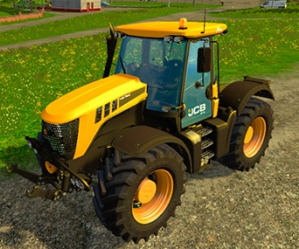 Трактор «JCB Fastrac 3220» v1.0 для Farming Simulator 2015 - скриншот
