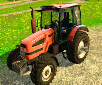 Трактор «МТЗ 1523»  для Farming Simulator 2015 - скриншот