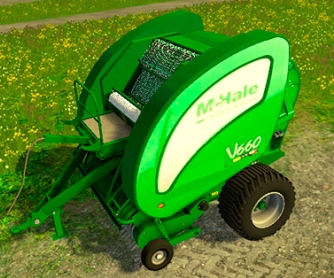 Тюкопресс «McHale V660»  для Farming Simulator 2015 - скриншот