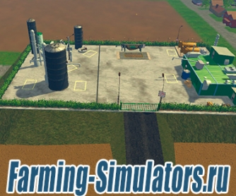 Завод «Fabrikgelande» v1.5 для Farming Simulator 2015 - скриншот