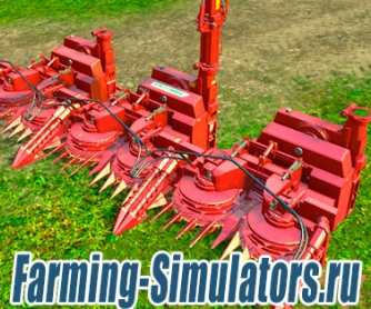 Жатка «Poettinger Mex6 Big» v1.0 для Farming Simulator 2015 - скриншот