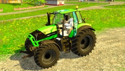 Два трактора «Deutz Fahr TTV 7210 & 7250» v4.0 для Farming Simulator 2015 - скриншот