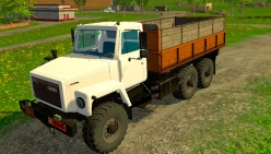 Грузовик «ГАЗ-3309» v1.0 для Farming Simulator 2015 - скриншот