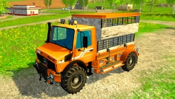 Грузовик «Unimog Spezial Vieh» v1.0 для Farming Simulator 2015 - скриншот