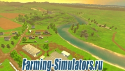 Карта «Долины Алтая» v2.1 для Farming Simulator 2015 - скриншот