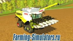 Комбайн «Claas Lexion 780 Terra Trak»  для Farming Simulator 2015 - скриншот