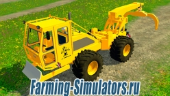 Лесо-погрузчик «Lokomo 928 Debardeur Forestier» v1.2 для Farming Simulator 2015 - скриншот
