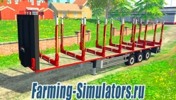 Прицеп для брёвен «Kogel Timber Semi Trailers» v1.0 для Farming Simulator 2015 - скриншот