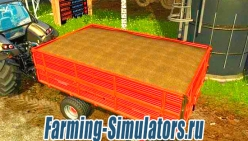 Прицеп «Ursus T610A» v1.0 для Farming Simulator 2015 - скриншот