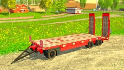 Трал «Schwarzmüller Low Loader» v1.5 для Farming Simulator 2015 - скриншот