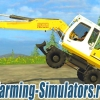 Экскаватор «Liebherr 900C» V 1.1 для Farming Simulator 2015 - скриншот