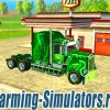 Грузовик «Kenworth T908 John Deere Edition» v1.0 для Farming Simulator 2015 - скриншот