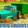 Грузовик «КрАЗ 6322» v2.0 для Farming Simulator 2015 - скриншот