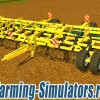 Культиватор «Bednar Atlas AM 155 Cultivator» v1.0 для Farming Simulator 2015 - скриншот