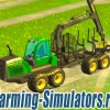 Лесовоз «John Deere 1510e IT4» v1.0.1 для Farming Simulator 2015 - скриншот