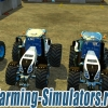 Набор тракторов «New Holland T8S 4 Pack» v1.5 для Farming Simulator 2015 - скриншот