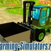 Погрузчик «Clark Forklift C80» v4.0 для Farming Simulator 2015 - скриншот