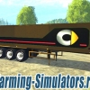Прицеп «Cat Semi Trailer B SGW» v2 для Farming Simulator 2015 - скриншот