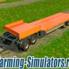 Прицеп «Fliegl Semi Trailer Set» v1.0 для Farming Simulator 2015 - скриншот