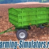 Прицеп «ПТС 4» v1.0 для Farming Simulator 2015 - скриншот