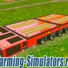Самоходная платформа «Ombu Trans Remolques» v2.0 для Farming Simulator 2015 - скриншот