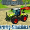 Трактор «Claas Xerion 5000 Forest Edition» v1.0 для Farming Simulator 2015 - скриншот