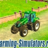Трактор «New Holland T8 435 Multicolor» v3.1 для Farming Simulator 2015 - скриншот