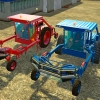 Трактор «Transador Multicolo» v1.0 для Farming Simulator 2015 - скриншот