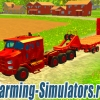 Тягач «Oshkosh M1070 A1» + трал v1.0 для Farming Simulator 2015 - скриншот
