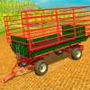 Тюкопресс «Welger AP730wc and Trailer» v1.0 для Farming Simulator 2015 - скриншот